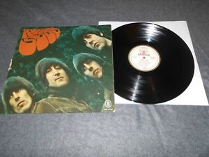 BEATLES RUBBER SOUL SMO 84 066 rot/weiß/gold