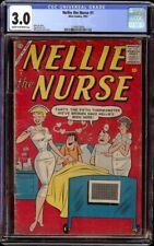 Nellie the Nurse # 1 CGC 3.0 CRM/OW (Atlas, 1957) Scarce 1st issue