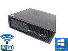 HP Compaq Pro 4300 SFF PC - Intel Core i3 3.3GHz 4GB Ram 500GB HDD Win 10 + WiFi