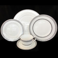 CONTRASTS by Wedgwood 5 Piece Place Setting NEW NEVER USED made in England