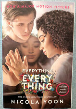 EVERYTHING EVERYTHING Nicola Yoon Movie Tie-In Edition Paperback 2017