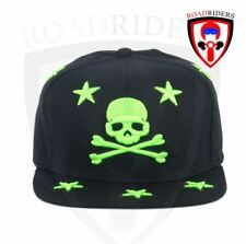 Road Riders Fashionable Snap Back Cap - SKULL
