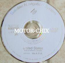 09 Acura MDX RDX RL TL TSX Navigation DVD / CD Update Disc 4.81A White Disk 2010