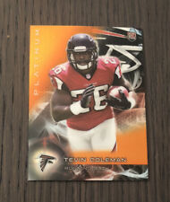 2015 Topps Platinum TEVIN COLEMAN#134 RC Chargers Orange Refractor Rookie Card
