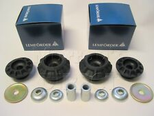 Pair Lemforder Top Rear Suspension Mount Full Kits VW Golf Mk2 Mk3 Vento Corrado