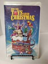 """How the Toys Saved Christmas VHS """"New"""""""