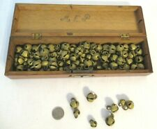 Collectible Brass Sleigh Jingle Door Bells Loose 99 Pcs