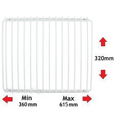 3 x Ripiano Frigorifero per Frigo ICEKING Rivestito di Plastica regolabile Rack