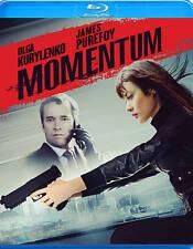 Momentum [Blu-ray], Excellent DVD, Olga Kurylenko, Morgan Freeman, James Purefoy