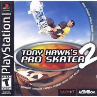 Tony Hawk's Pro Skater 2 PlayStation 1 PS1 Game Complete *CLEANED VG