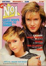 Simon Le Bon on Mag Cover 12 January 1985   Wham   Paul McCartney   The Jacksons