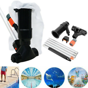 5 Pcs Pool Spa Jacuzzi Pond Jet Vac Vacuum Cleaner Cleaning Hoover Suction Kit