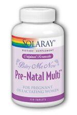 Baby-Me-Now Prenatal Original Formula Solaray 150 Tabs