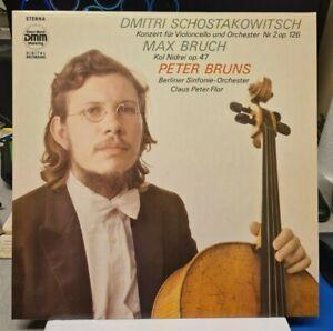 LP Max Bruch - Kol Nidrei - Schostakowitsch - Konz. für - ETERNA  DMM  7 28 042