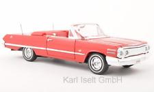 Chevrolet Impala Canbrio rot 1:24 Welly neu + OVP 22434rt