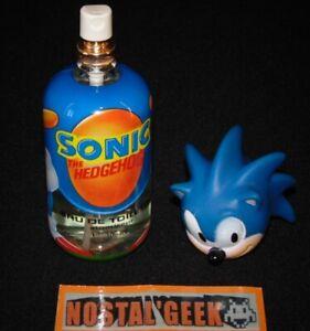 Goodies Eau de Toilette Parfum Sonic The Hedgehog / Sega 1991 / Rare & Neuf !!!
