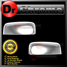 09-15 Dodge RAM TRUCK 1500+2500+3500 Triple Chrome TOP Half Mirror Cover 1 pair