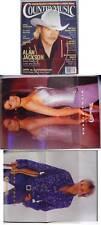 RARE KEITH URBAN AND SHANIA TWAIN POSTER-2001 MUSIC MAG