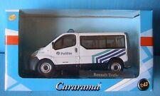 RENAULT TRAFIC POLITIE POLICE BELGE CARARAMA 1/43 VITRE MINIBUS BELGIE PHASE 2