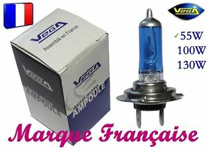 "10 AMPOULES XENON VEGA® ""DAY LIGHT"" 5000K MARQUE FRANCAISE HB3 9005 55W"