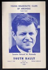 Arkansas 1967 Youth Rally For Ted Kennedy