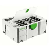 Festool Systainer T-Loc Df Sys 2 TL Df 497852 Avec Couvercle Compartiment