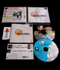 VALKYRIE PROFILE Sony playstation PSX PS1 psone JAP Spine