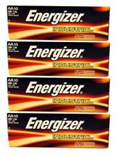 40 x Energizer AA Industrial Battery Alkaline Long Expiry Date