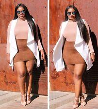 Body camicia maglia Retato nudo trasparente Mesh Unlined Mock Neck Bodysuit XL