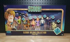 Scoob! Deluxe Collection Figure Pack Of 7 Shaggy Scooby Doo Velma Daphne Fred