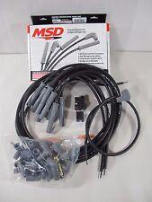 Msd Ignition 31193 Black 2 In 1 Universal 85mm Spark Plug Wire Set 8 Cylinder