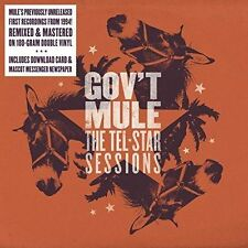 LP-GOV'T MULE-THE TEL STAR SESSIONS -2LP- NEW CD