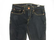 Calvin Rucker Get Down On It Distressed Black Skinny Stretch Jeans Size 29