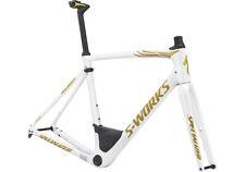 Specialized S-Works Roubaix Gloss Metallic White/Gold Flake Size 49 Cm $4500!!