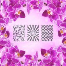 Set: patrón-a, Aerógrafo Plantilla Autoadhesivo de Arte en Uñas diferentes motivos 60 P