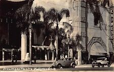 Real Photo Postcard Grauman's Chinese Theatre in Hollywood, California~113656