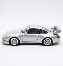 UT Rarität Porsche 911 GT Sportwagen in silber lackiert, 1:18, X702