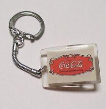 Bevanda Coca-Cola USA Acrilico Catena chiave Key Chain Delizioso Refreshing