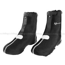 ROCKBROS Cycling Shoe Cover Warm Cover Waterproof Protector Overshoes Black New