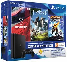 SONY PLAYSTATION4 PS4 SLIM (MODEL - CUH2008A) 500GB CONSOLE @ 3 FREE GAME BUNDLE