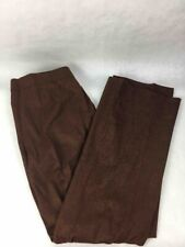 Etro Mens Dress Pants Brown Zip Fly Pockets Wool Blend Stretch Trousers 44