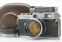 [N MINT w/ Meter Case Hood ]   Canon P Camera w/ 50mm f/ 1.4 L39 from JAPAN #451