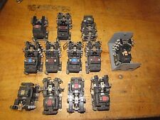 12 USED Allen Bradley 120 V Contacts/ Contact Switches