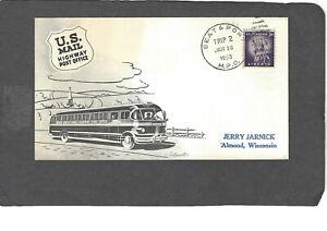 HPO COVER SEAT & PORT HPO JAN 28-1955 TRIP 2 ARTMASTER CACHET