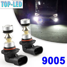 9005 HB3 LED Fog Driving Lights Bulbs 6000K White Headlight Kit 100W High Power