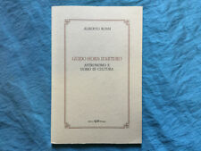 Guido Horn d'Arturo astronomo e uomo di cultura
