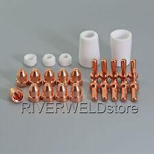 ME-50 50Amp Air Plasma Cutter Torch Consumables Kit 25pcs