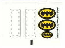 STICKERS Lego Batman 7780 The Batboat Stickers Only NEW Unused Original/Genuine