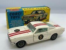 Corgi Toys No 325 Ford Mustang Fastback 2+2 Competition Model Vintage Original