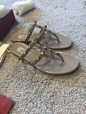 Valentino  Summer rockstud  Jelly sandals 36 Beige